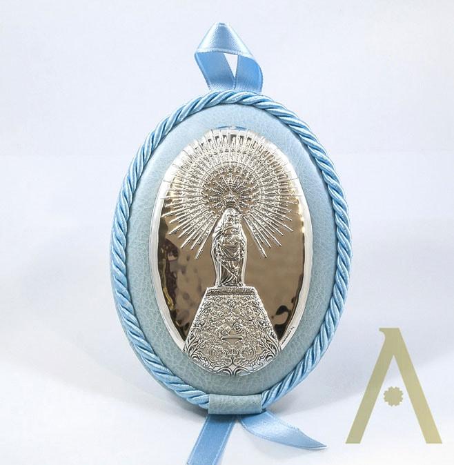 Broche Virgen del Pilar.
